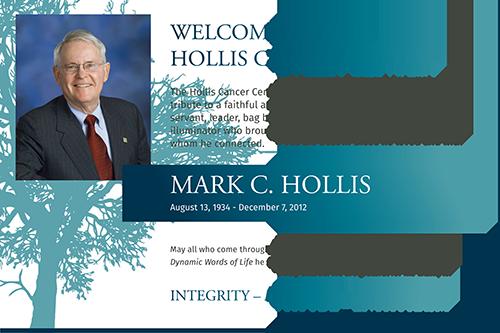 mark c hollis, hollis cancer center, mark c. hollis, hollis cancer lrh, lakeland regional cancer center